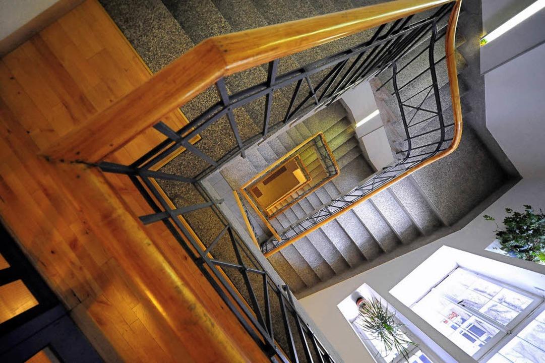 Treppenhaus mit Licht und Charme im Hegarhaus  | Foto: Thomas Kunz