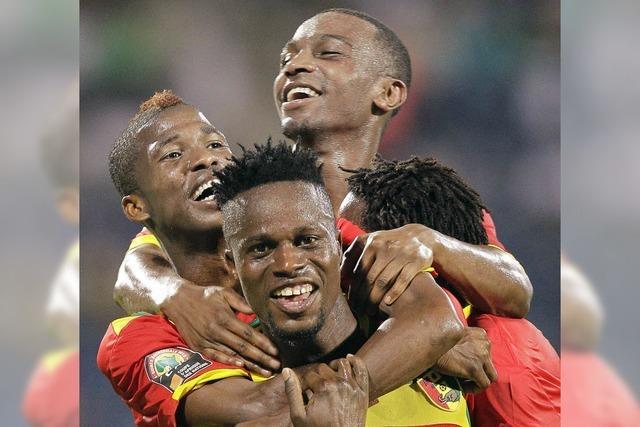 Guinea will Ghana stürzen