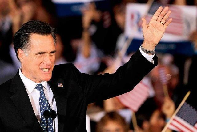 Romney nach Florida-Vorwahl auf Siegeskurs