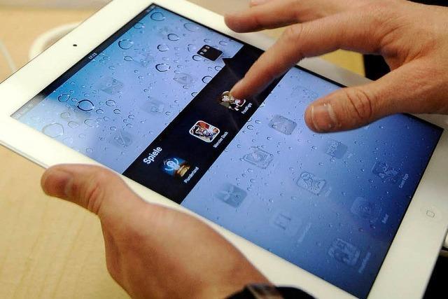 Tablet-PC für schwedische Erstklässler