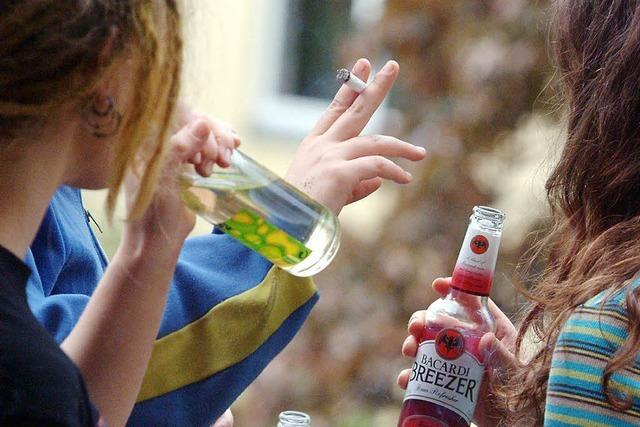 Stadt und Polizei wollen Alkoholkonsum bei Jugendlichen senken