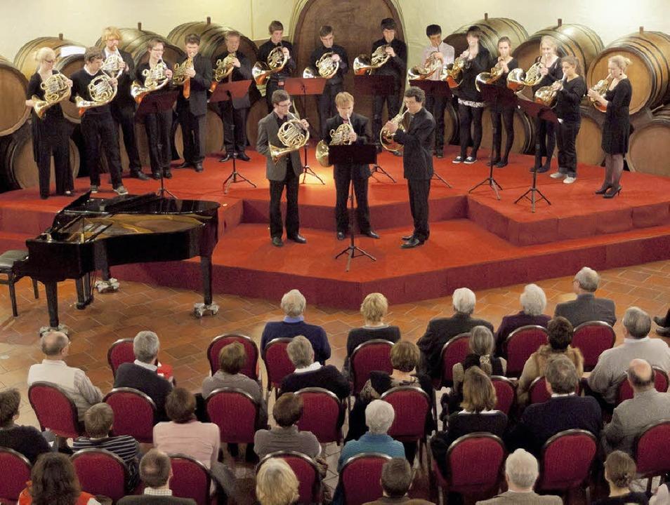 Bereits zum  5. Mal gab die   Hornklas... wieder waren die Zuhörer begeistert.   | Foto: martin hau