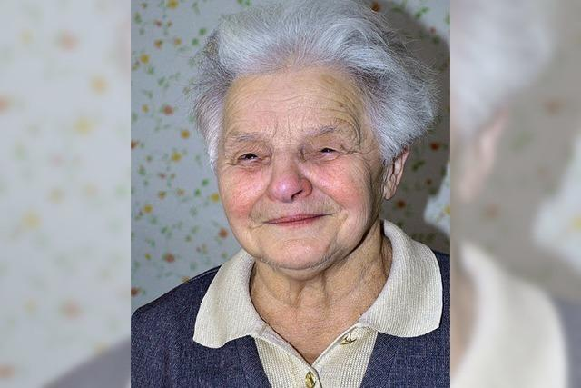 Mina Kern feiert 80.Geburtstag