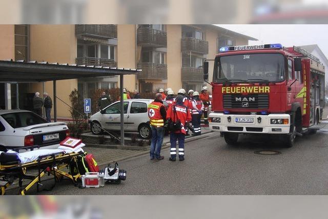 Marcher Feuerwehrabteilungen proben gemeinsam
