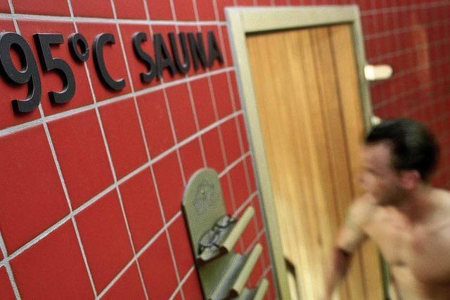 Flucht in die Sauna: Manche mögen's heiß