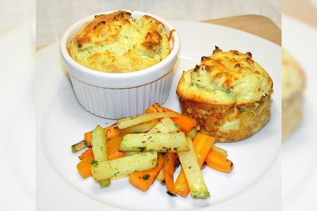 Kartoffel-Soufflee: Locker aus dem Ofen