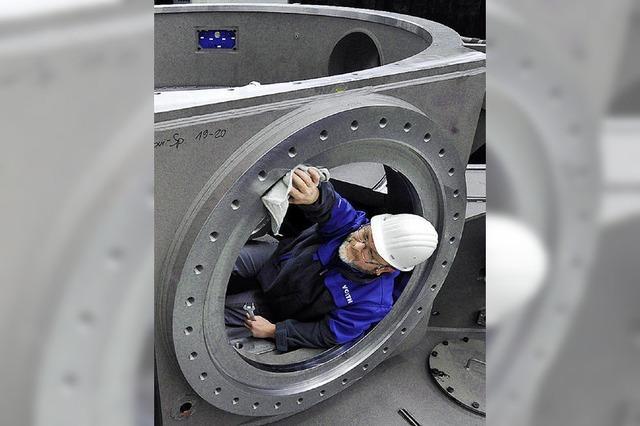 Ruhe im Maschinenraum