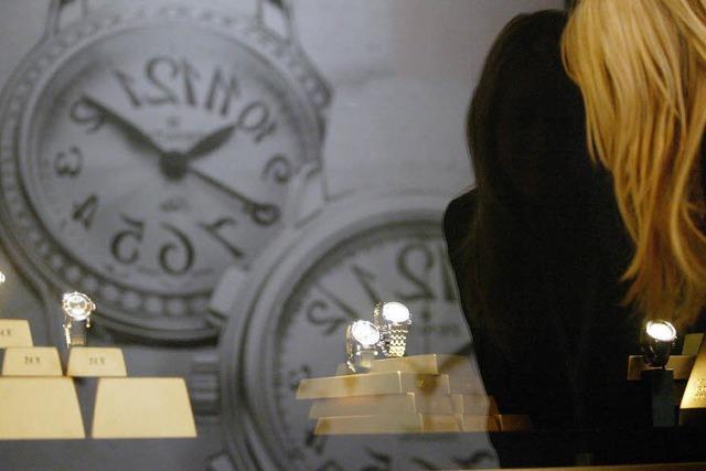 Exportrekord für Schweizer Uhrenmacher