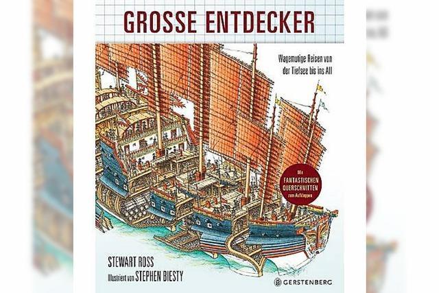KINDERHÖRBUCH: Legendäre Entdeckerreisen