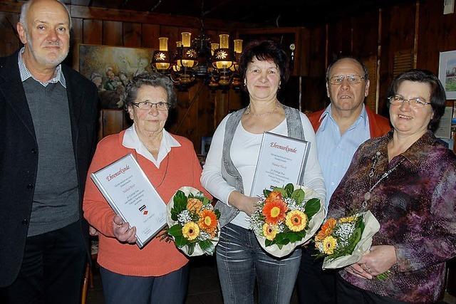 Schwarzwaldverein bestätigt Führung