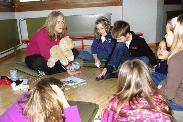 Kinder lernen spielerisch Englisch