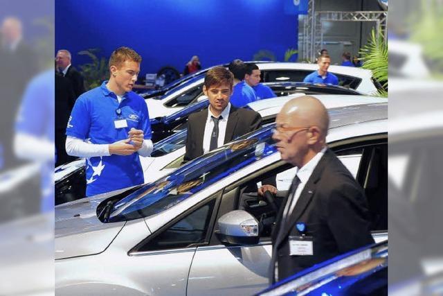 """Die """"Automobil 2012"""" zeigt die neuesten Fahrzeuge"""
