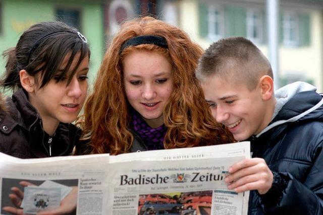 Leserumfrage: Bestnoten für die Badische Zeitung