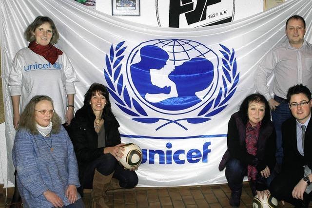 Großes Juniorenturnier für Unicef