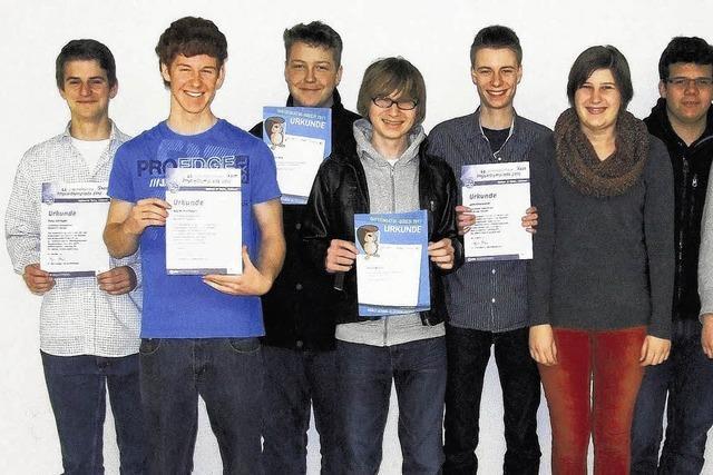 Waldshuter Schüler heimsen Preise ein