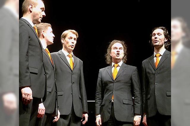 Schöne Stimmen entfalten sich im Klang des Ensembles