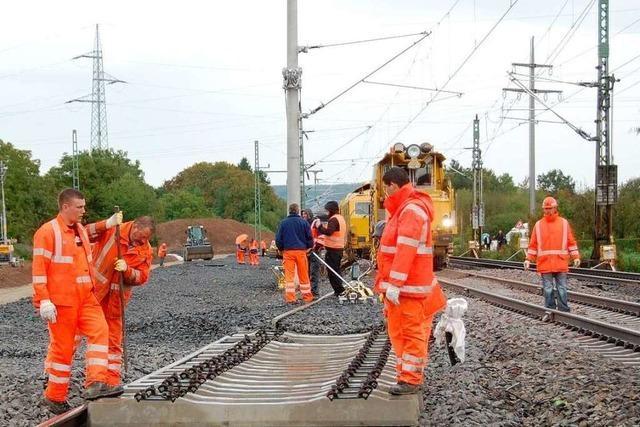 Rheintalbahn: Weichen für die Bürgertrasse sind gestellt
