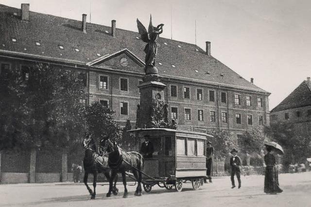 Wo fuhr einst Freiburgs erster Omnibus?