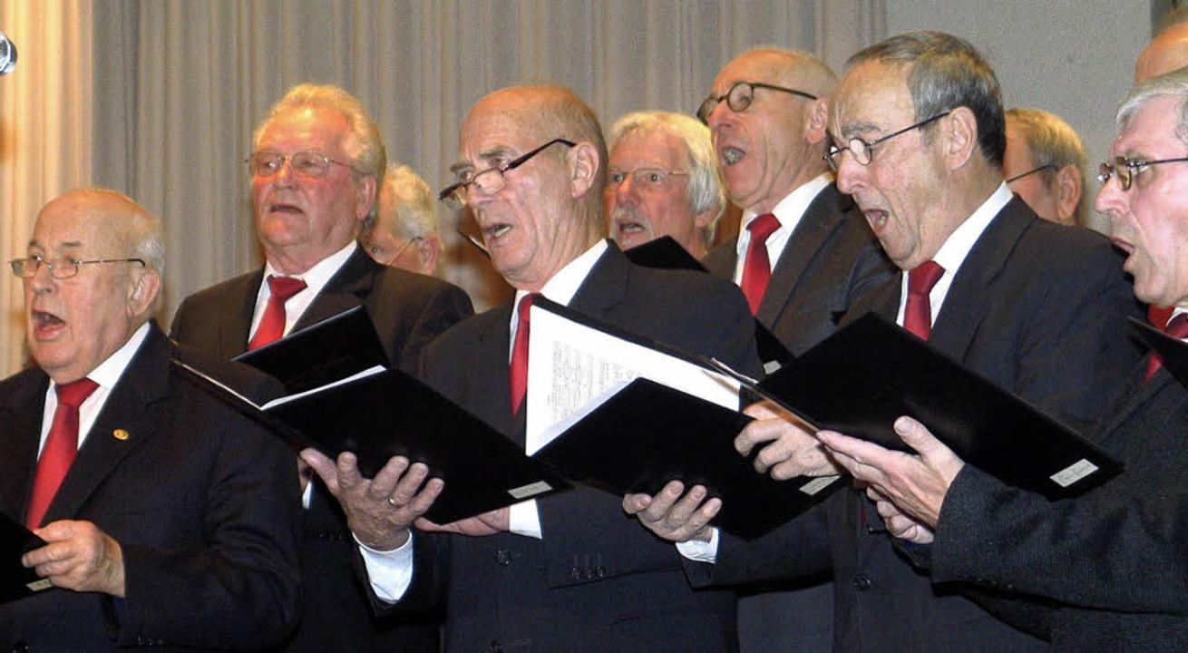 Seit 170 Jahren aktiv: Männerchor Haltingen   | Foto: Regine Ounas-Kräusel