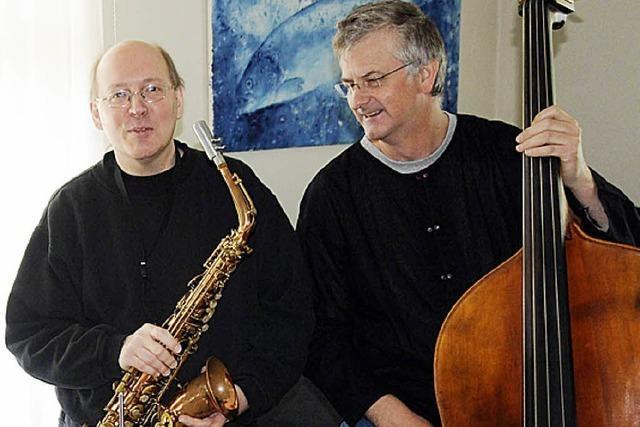 Felber-Geisler- Duo beim Benefizkonzert