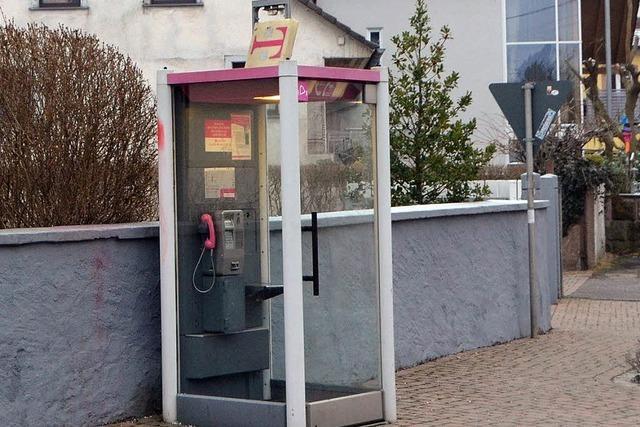 Telekom will Telefonzelle abbauen