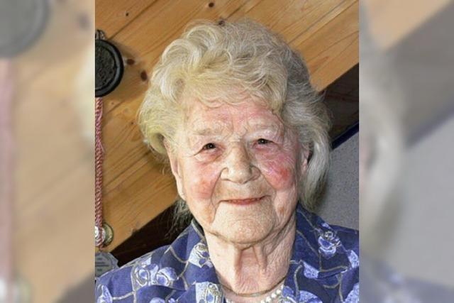 Erstaunlich fit mit 95 Jahren