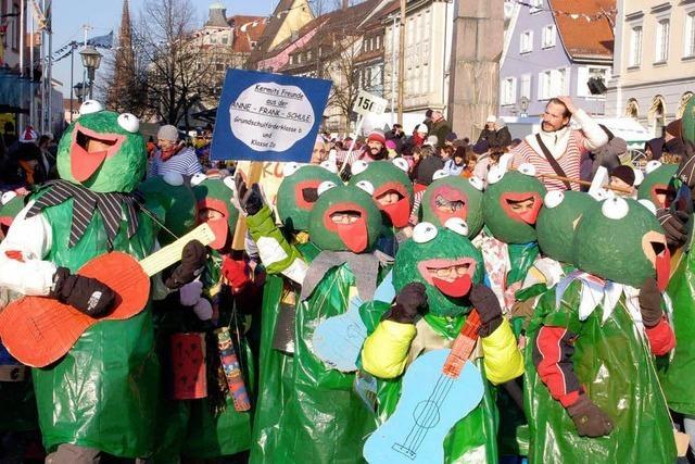 Fotos: Der Offenburger Narrentag 2012