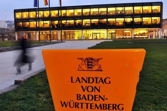 Landtagspräsident: Glasdach für mehr Transparenz?