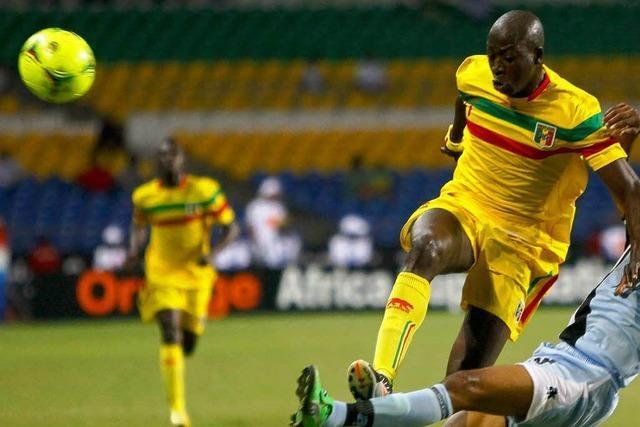 SC-Stürmer Dembélé steht mit Mali im Halbfinale