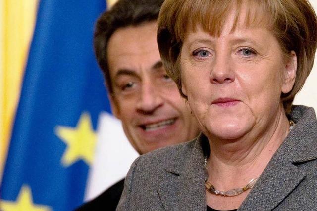 Merkel und Sarkozy verlieren Geduld mit Athen