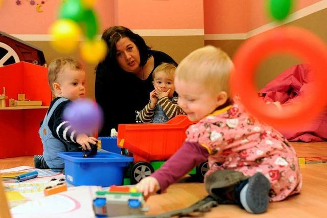 Zahl der Kindergartenkinder steigt wieder an
