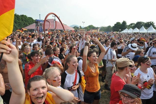 Ab der WM 2014 Public Viewing auf der Freiburger Messe