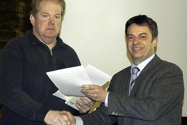 Norbert Leibbrand als neues Ratsmitglied verpflichtet