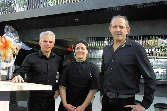 Merdinger Restaurant-Café im Glashaus