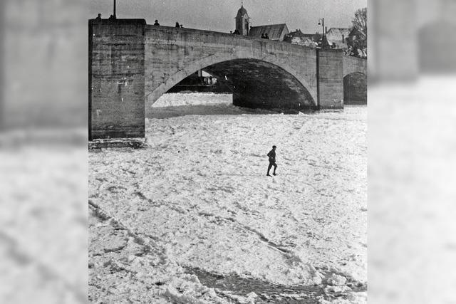 Die Rheinbrücke ist museumsreif