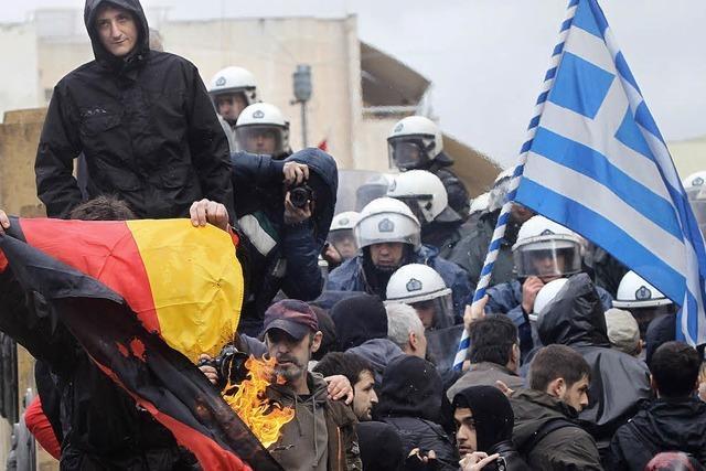 Bewegung in Athen