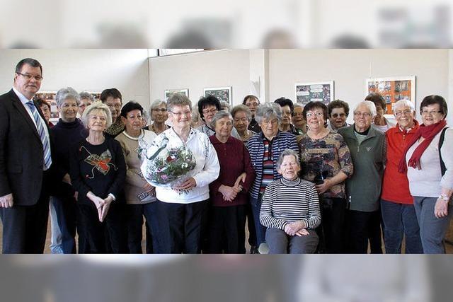 Im Einsatz für Gesundheit der Senioren