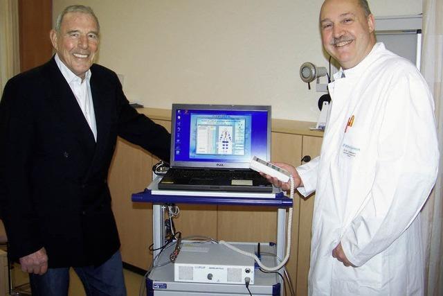 Neues Gerät zur Diagnose