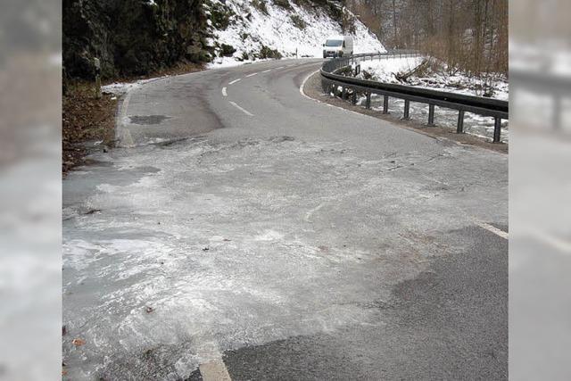 Wehratal im Eis – schön gefährlich