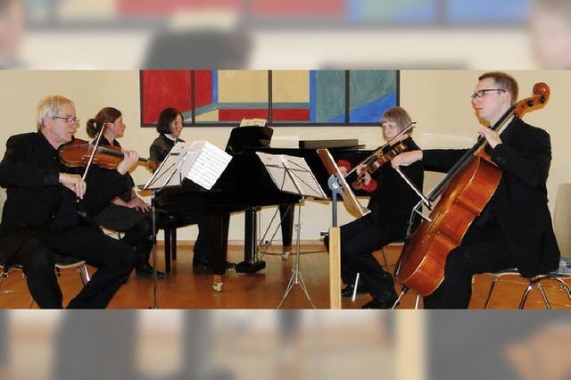 Anspruchsvolle Kammermusik