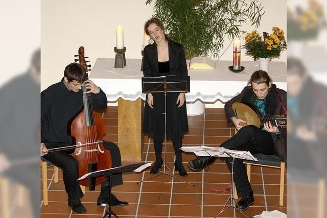 Bezauberndes Konzert der leisen Töne