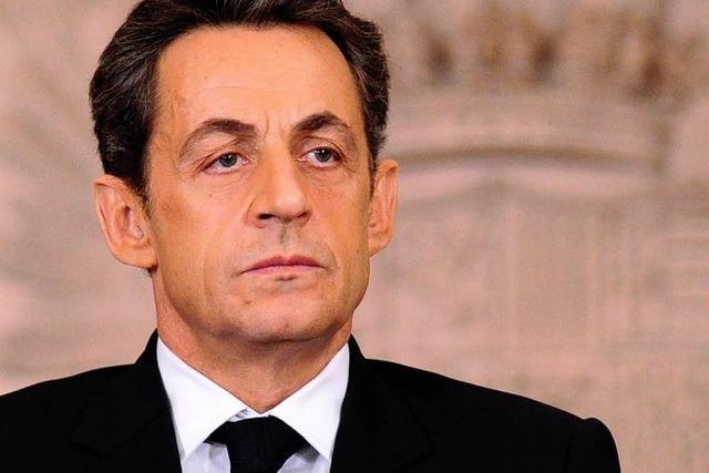 Sarkozy besucht das AKW Fessenheim