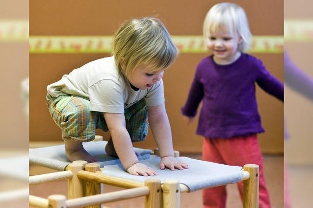 Ein Anmeldeformular für alle zehn Kindergärten