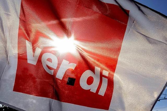 Verdi fordert 6,5 Prozent mehr