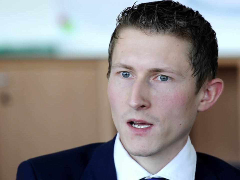 Marco Wölfle, Rektor der IUCE  | Foto: Ingo Schneider