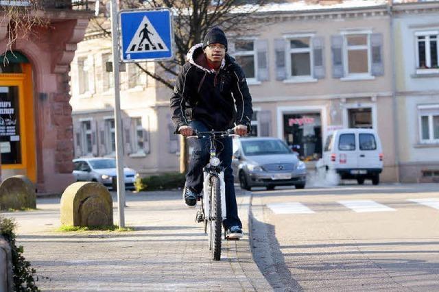 Lahr muss mehr für die Radfahrer tun