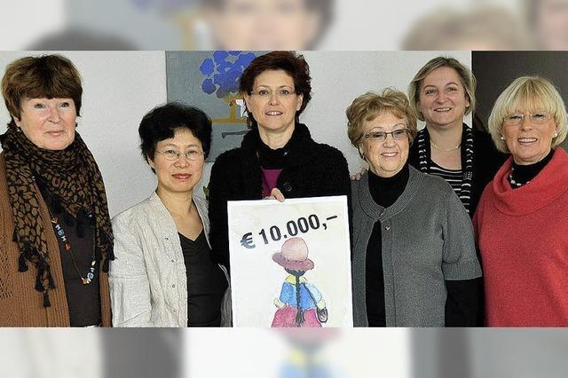 10 000 Euro für neue Projekte mit Kindern