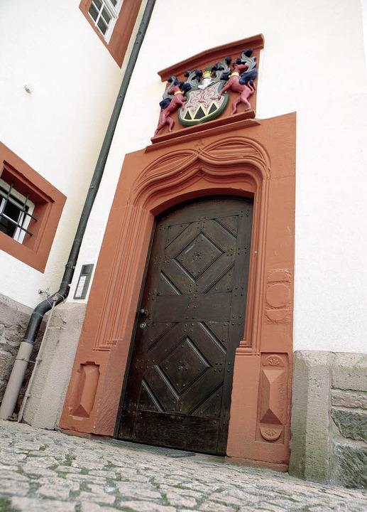 Der Eingang zur Schmieheimer Ortsverwa...daten für das Amt des Ortsvorstehers.   | Foto: Christoph Breithaupt
