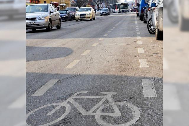 Schutz der Fahrradfahrer angemahnt