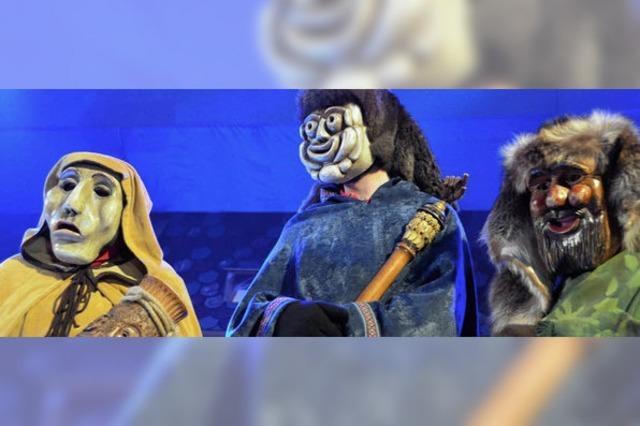 Die drei Urmasken